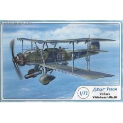 Vickers Vildebeest Mk.III - 1/72 kit
