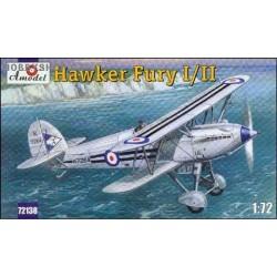 Hawker Fury Mk.I/II - 1/72 kit