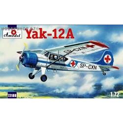 Yakovlev Yak-12A - 1/72 kit