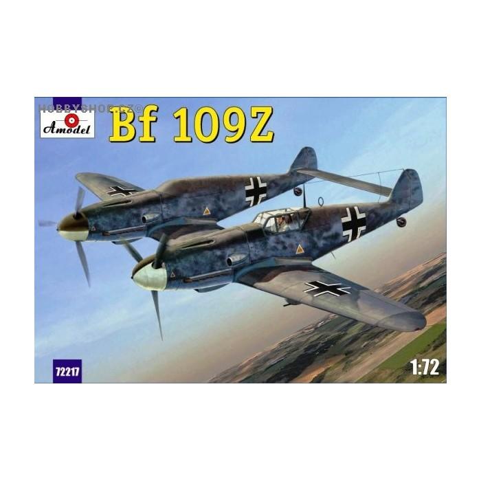 Retro Wings 7201 1/72 Messerschmitt Bf 109Z-2 Night