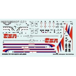 Boeing 737-400 CSA - 1/144 decal
