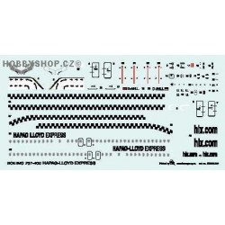 Boeing 737-400 Happag-Lloyd Express - 1/144 decal