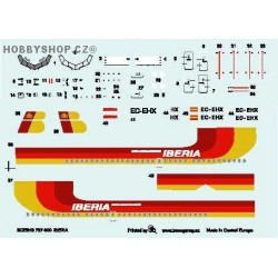 Boeing 737-300 Iberia - 1/144 decal