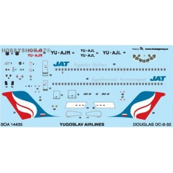 MDD DC-9-32 Yugoslav Airlines - 1/144 decal
