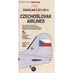 Douglas DC-3 CSA - 1/144 decal