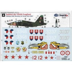 Su-25UB/UBK Two seater - 1/48 decal