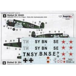 Siebel Si 204D/E Luftwaffe & Russia - 1/72 decal