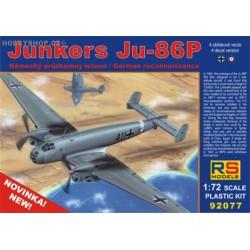 Junkers Ju 86P - 1/72 kit