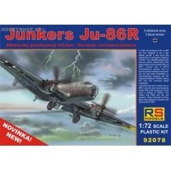 Junkers Ju 86R - 1/72 kit