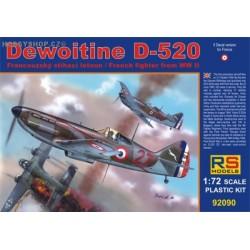 Dewoitine D.520 France - 1/72 kit