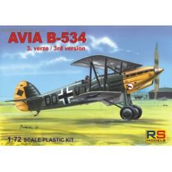 Avia B-534 III.series - 1/72 kit