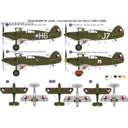 Avia B-534 IV.serie - 1/48 decal