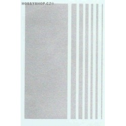 Stripes - silver