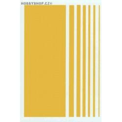 Stripes - dark yellow
