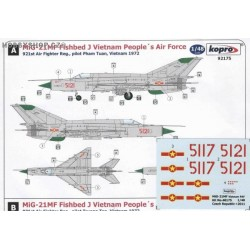 MiG-21MF Vietnam People's A.F. - 1/48 decal