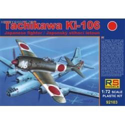 Tachikawa Ki-106 - 1/72 kit