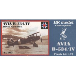 Avia B-534/IV Slovakia - 1/72 kit