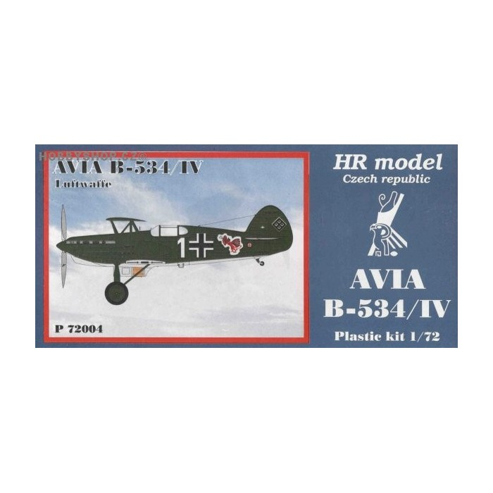 Avia B-534/IV Luftwaffe - 1/72 kit