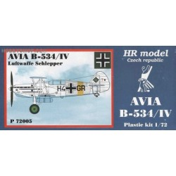 Avia B-534/IV Luftwaffe Schlepper - 1/72 kit