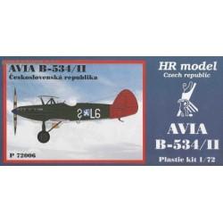 Avia B-534/II Czechoslovakia - 1/72 kit