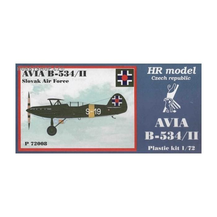 Avia B-534/II Slovakia - 1/72 kit
