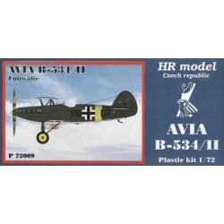 Avia B-534/II Luftwaffe - 1/72 kit