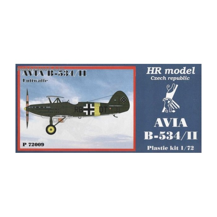 Avia B-534/II Luftwaffe - 1/72 kit