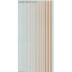 Radome Tan (F.S.33613) Slim Strips