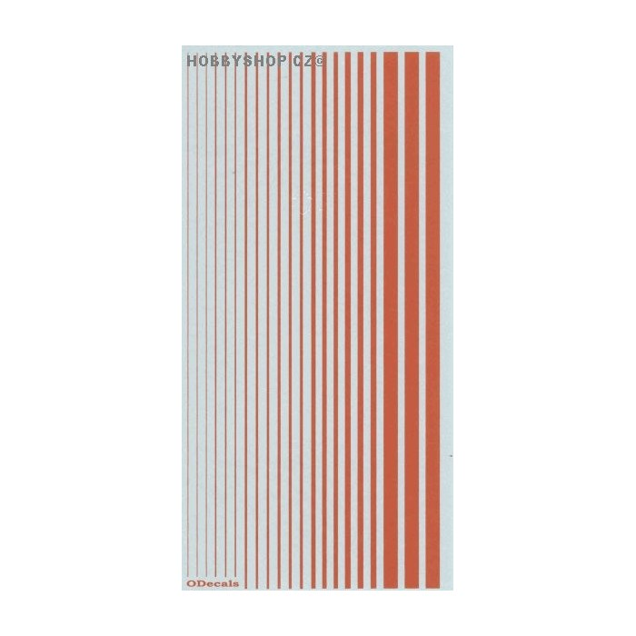 Orange (F.S.32246) Slim Strips