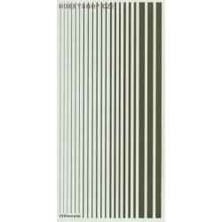 Interior Green (F.S.34151) Slim Strips