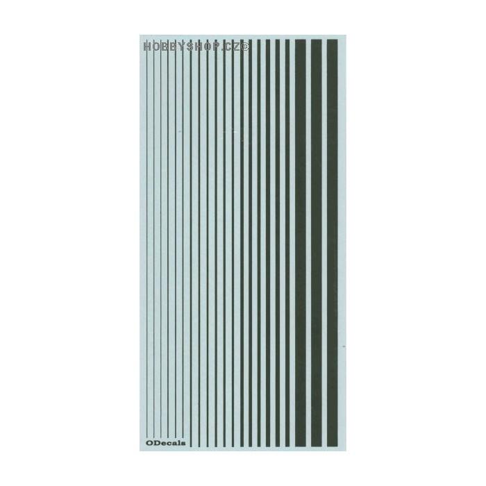 US Marine Green (F.S.34097) Slim Strips