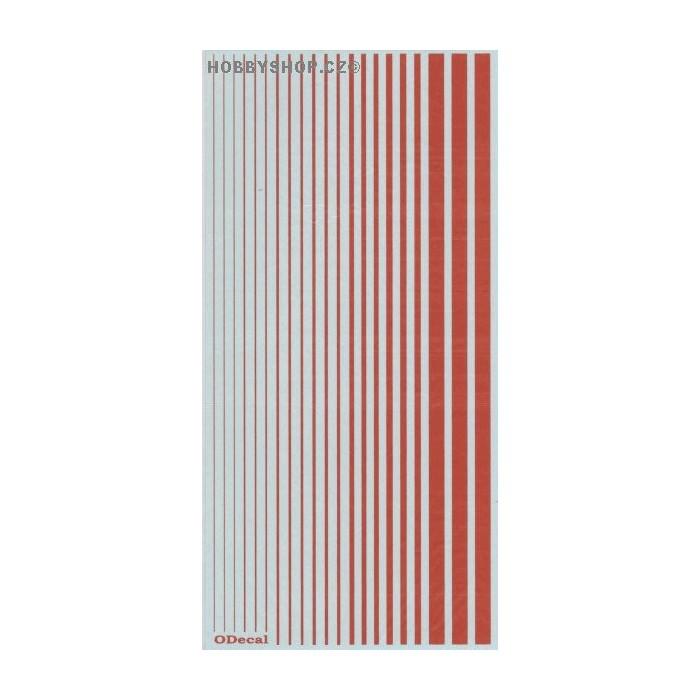 Internat. Orange (F.S.12197) Slim Strips