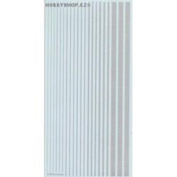 Aluminium (F.S.17178) Slim Strips
