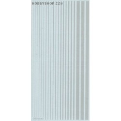 Light Gray (F.S.16440) Slim Strips