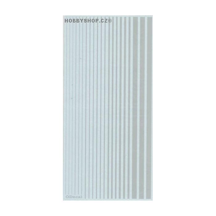 Light Gray (F.S.16440) Slim Strips