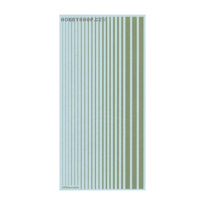 Duck Egg Green (F.S.14533) Slim Strips