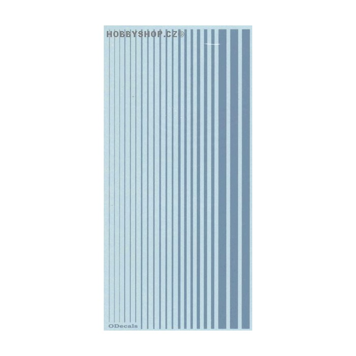 Air Superiority Blue (F.S.15450) Slim Strips