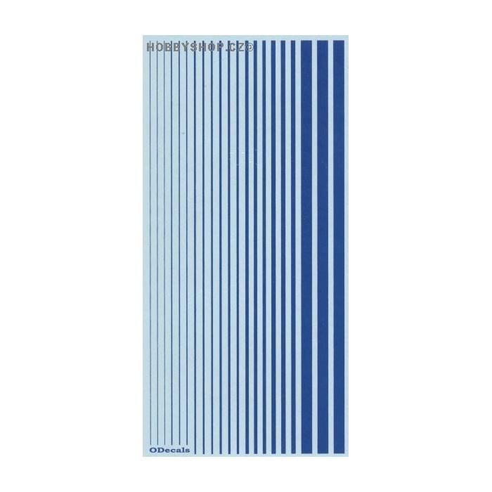 French Blue (F.S.15180) Slim Strips