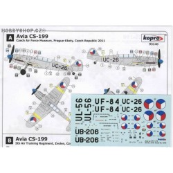 Avia CS-199 Two-Seater - 1/72 decal