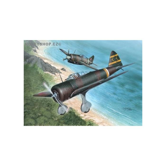 Ki-27 Otsu Over Malaya & Philippines