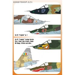 Su-25 in Foreign Service - 1/48 decal