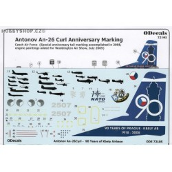 An-26 Curl Anniversary Marking - 1/72 decal