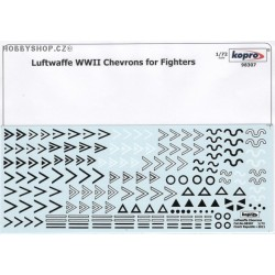 Luftwaffe Chevrons for Fighters - 1/72 decal
