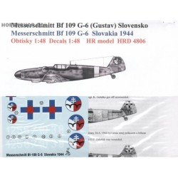 Messerschmitt Bf 109G-6 Slovak A.F. - 1/48 decal