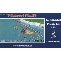 Nieuport Nie.10 France & RNAS early - 1/72 kit