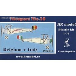 Nieuport Nie.10 Belgium & Italy - 1/72 kit