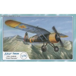 PZL-24B/E Over Danube - 1/72 kit
