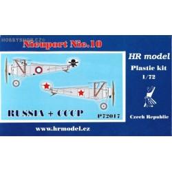 Nieuport Nie.10 Russia & Soviet - 1/72 kit
