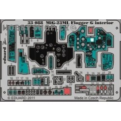 MiG-23ML Flogger G interior S.A.  1/32 - Painted - 1/32 ZOOM PE set
