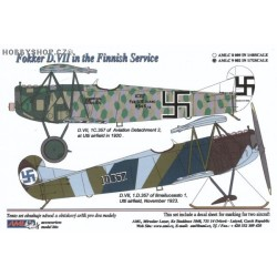 Fokker D.VII Finnish - 1/72 decals